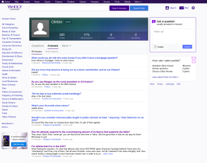 FireShot Screen Capture #007 - 'Answers I Yahoo Answers' - fake clinton profile
